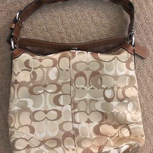 Coach Chelsea Optic Canvas Hobo Handbag